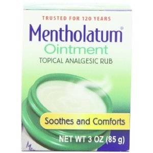 Aromatic Ointment (Mentholatum Ointment Topical Analgesic Aromatic Vapors)