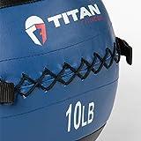 Titan Fitness 10 LB Wall Medicine Ball Core Workout