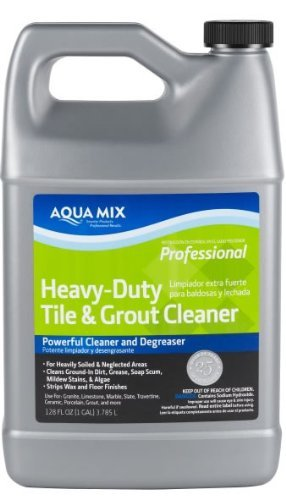 Aqua Mix Heavy Duty Tile and Grout Cleaner - Gallon Aqua Mix Tile And Grout Cleaner