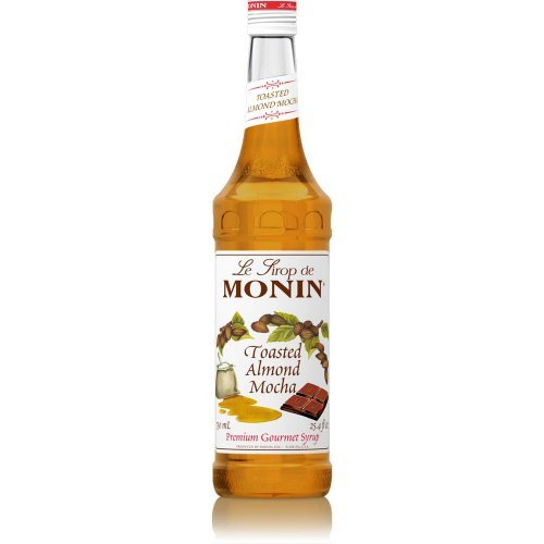 Monin Toasted Almond Mocha Syrup 750ML - Almond Toasted Coffee