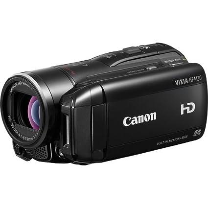amazon com canon vixia hf m30 full hd camcorder with 8gb flash rh amazon com Canon VIXIA HF R400 canon hd vixia hf200 manual