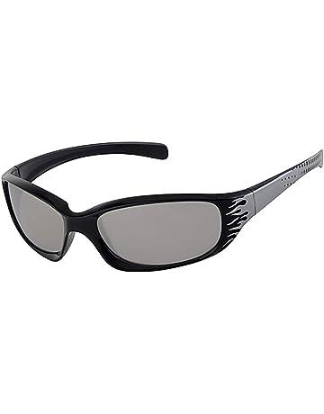 fbcee2e882f8 Kids/Childrens, 5-9 Years Old, Wrap Around Black Frame Sunglasses,