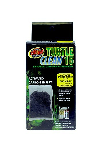 (3 Pack) Zoo Med Turtle Clean 15 Activated Carbon Inserts - Revel Tank