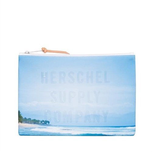 Herschel Supply Co. Network Large Photo Transfer Pouch, Wave/Sky