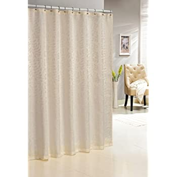 Duck River Textiles Baltic Jacquard Shower Curtain Ivory