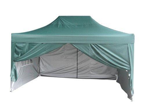 Quictent Silvox Waterproof 10'x15' EZ Pop Up Canopy Comme...