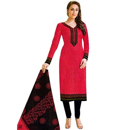 Readymade-Designer-Ethnic-Printed-Cotton-Salwar-Kameez-Suit-Indian
