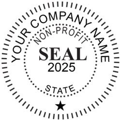 Amazon Not For Profit Corporate Seal Custom