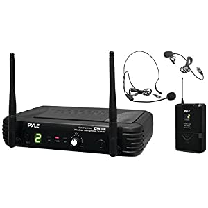Pyle Pro(r) Pdwm1904 Premier Series Professional Uhf Wireless Body-Pack Transmitter Microphone System by PYLE PRO