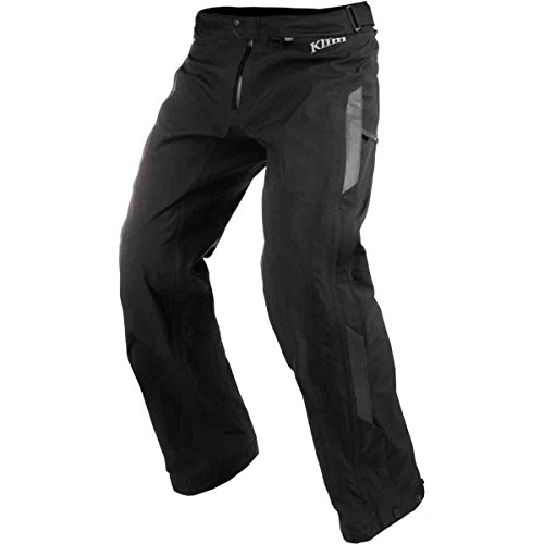 Road Gore Tex Motorcycle - Klim Torrent Over Men's MX Motorcycle Pants - Black / Size 34 Tall