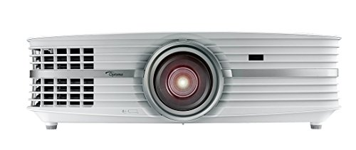 Optoma UHD60 True 4K Ultra High Definition, 3, 000 Lumens, Home Cinema Projector for Entertainment and Movies with HDMI 2.0 and ()