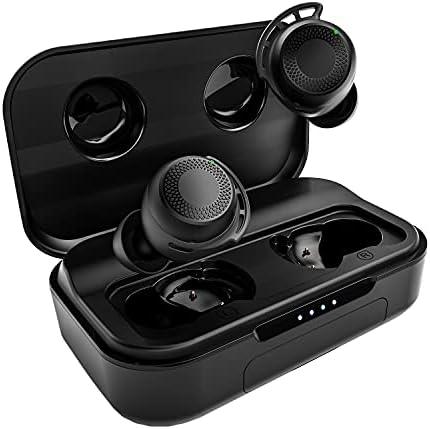 Wireless Earbuds Bluetooth, AMINY U-Air6 Sport Bluetooth Earphones IPX8 Waterproof Inear Bluetooth Ear Buds Wireless Headphones, 100Hrs Playtime Touch Control Wireless Earphones Built-in Mic