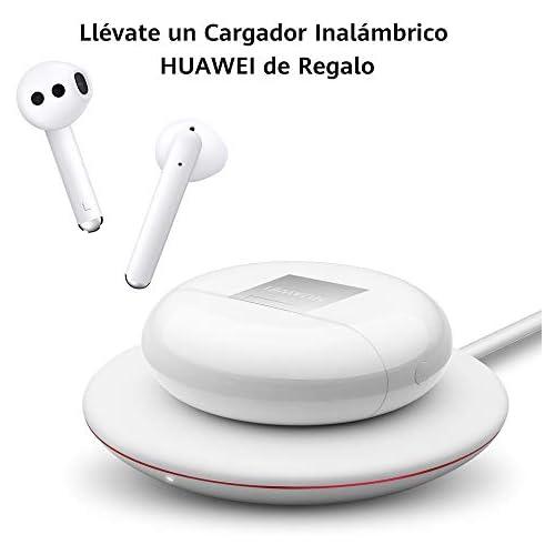chollos oferta descuentos barato HUAWEI FreeBuds 3 Auriculares inalámbricos con cancelación de Ruido Activa conexión Bluetooth ultrarrápida Altavoz de 14 mm Carga inalámbrica Color Blanco