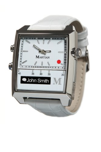 Martian Passport Smartwatches with Amazon Alexa - Analog + Voice (B00FI16HS0)
