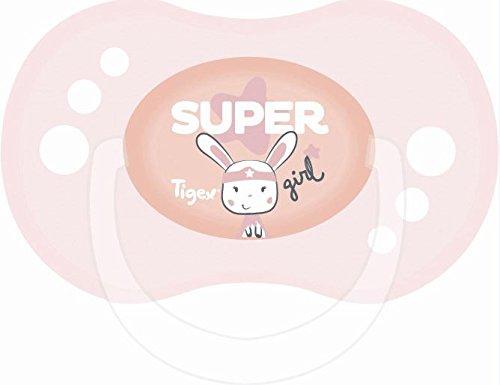 Tigex Sensitive - Pack de 2 chupetes para niños de más de 6 ...