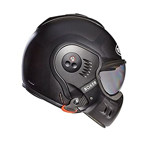 Amazon.es: Roof Boxer v8 Bond - Casco (talla M, acabado mate Titan), color gris