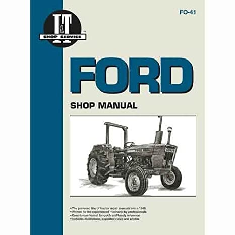 amazon com all states ag parts i t shop manual fo 41 ford 2310 rh amazon com Ford 3600 Diesel Tractor Wiring Diagram Ford 3600 Diesel Tractor Wiring Diagram