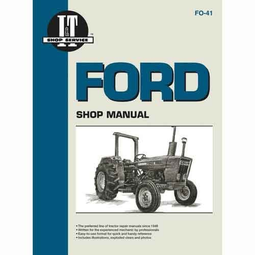 Parts Manual Illustration - All States Ag Parts I&T Shop Manual Ford 2310 2310 4600 4600 2600 2600 4600SU 4600SU 4100 4100 4610SU 4610SU 3610 3610 2610 2610 4110 4110 4610 4610 3600 3600