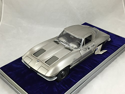1/12 Scale Franklin Mint 1963 Corvette Stingray Limited Edition in Fine Pewter