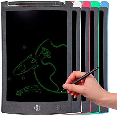 LKJASDHL 8.5インチ液晶液晶柔軟な光エネルギー小さな黒板子供学生ライティングボードを書く早期教育絵画ライティングタブレット (色 : 青)