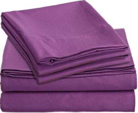 Eastern King Set - JB Linen 600 Thread Count 100% Pure Egyptian Cotton 4-Piece Sheet Set King/ Standard or Eastern King (76