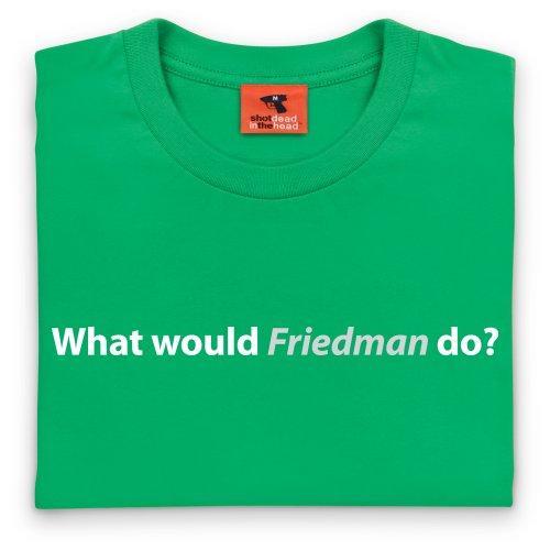 Square Mile Friedman T-shirt, Uomo Verde smeraldo