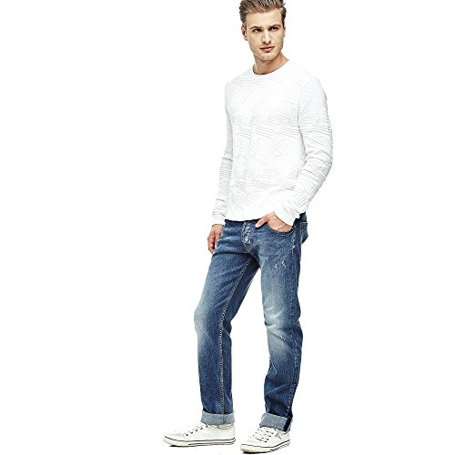 Guess Pull Homme Blanc