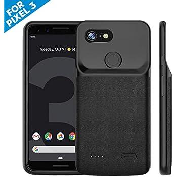 Amazon com: NEWDERY Google Pixel 3 XL Battery Case, 4700mAh Slim