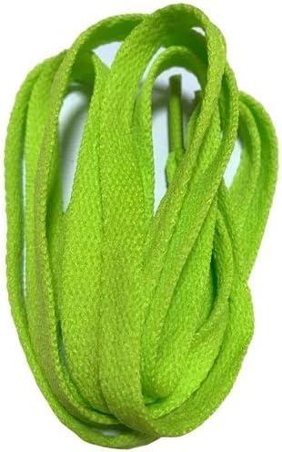 XJYWJ ワイドスニーカースポーツシューズフラット靴ひも靴ひもの8ミリメートル24色80センチメートル/ 100センチメートル/ 120センチメートル/ 140センチメートル/ 160センチメートル (Color : No 20 olive green, Size : 140CM)