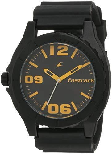 Fastrack OTS Sports Analog Black Dial Men's Watch   NK9462AP04 / NK9462AP04