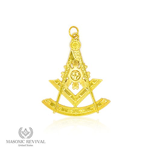 Past Masters Jewel (Past Master Collar Jewel by Masonic Revival (Gold))