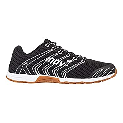 Inov-8 F-Lite 230 - Original Minimalist Cross Training Shoes - All Purpose Athletic Shoe for Gym, Training and Weight Lifting Black Size: 4 M UK