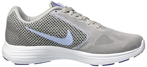 Shoes 014 WMNS Aluminum Tint Grey Grey Women's Running Nike Wolf Blue 3 Black Revolution FRO1OWZ