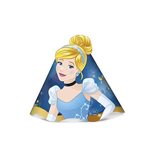 Regina Chapeu R307 Cinderela Princesa, 8 Unidades