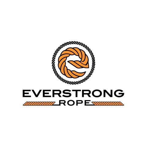 EVERSTRONG 100% Nylon Twisted Rope in 200 Ft hank x various sizes, 3/16'', 1/4'', 5/16'',3/8'',1/2'', 5/8'',3/4'',7/8'',1'',1-1/8'',x1-1/4'',1-1/2'' (3/8'')