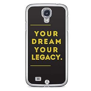 Ankit Samsung Galaxy S4 Transparent Edge Case - Design26