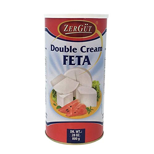ZerGut Double Cream Feta Cheese 28 oz, 800 g