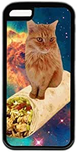 Galaxy Space Hipster Cat Theme Iphone 5C Case
