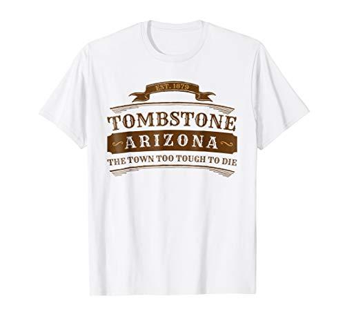 Tombstone Arizona Shirt AZ Souvenir T-Shirt