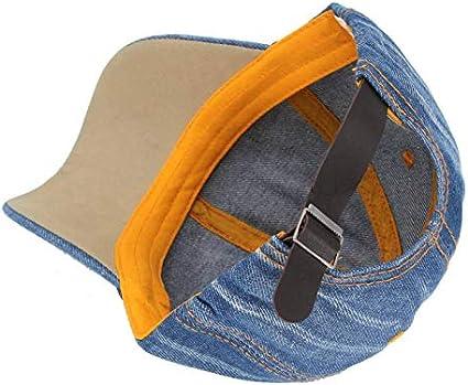 ZSOLOZ Baseball Caps Baseball Caps Hats For Men Washed Jeans Women Snapback Denim Jeans Blank Casquette Bone Gorras Casual Male Dad Cap Hats