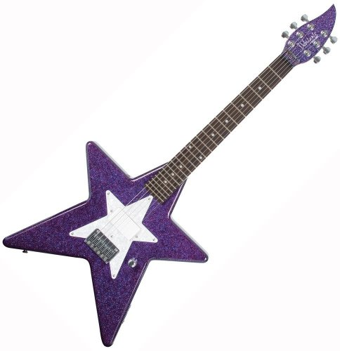 Daisy Rock Debutante Star Short Scale Cosmic Purple Electric Guitar