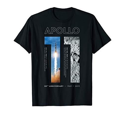 - Apollo 11 50th Anniversary Tshirt Moon Landing 1969 2019 T-Shirt