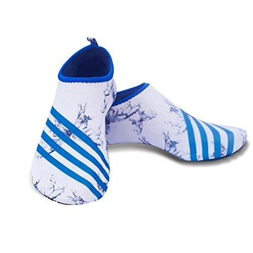 225c542a1b3f0 BeAllure Water Skin Shoes Aqua Socks for Beach Swim Surf Yoga Exercise for  Women and Men