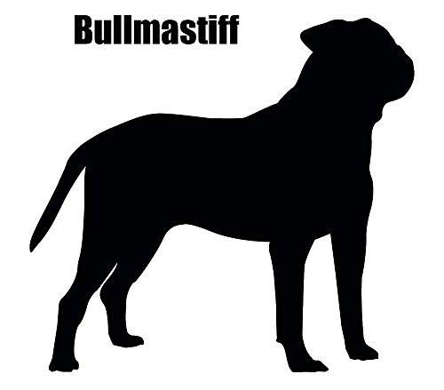 Bullmastiff 2 pcs 3-1/4