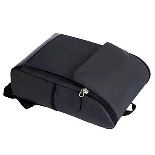 Yy.f Mochila Bolso Hombres Bolsa De Ordenador Portátil Bolsa De Viaje De Ocio De Nylon Bolsa De Sólidos De 2 Colores Grey