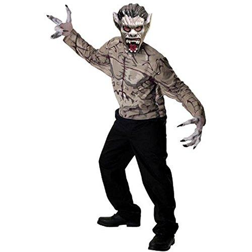 Scary Adult Hellbeast Costume - Adult Std. [Apparel]