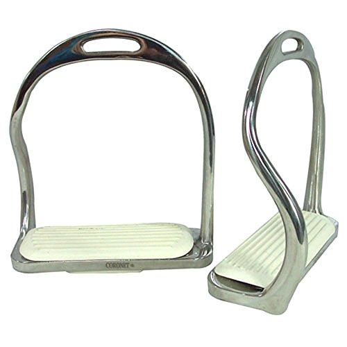 Intrepid International Foot Free Safety Iron Stirrup, 4.75