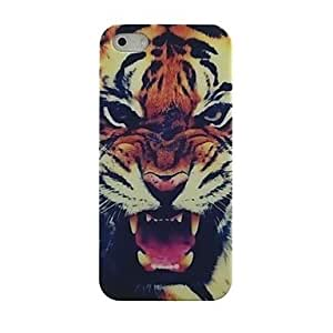 WEV Roaring Tiger Pattern Hard Case for iPhone 4/4S