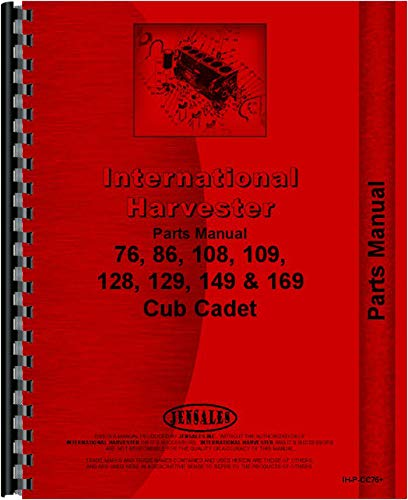 amazon com international harvester cub cadet 109 lawn and gardenCub Cadet 129 Parts Diagram #17