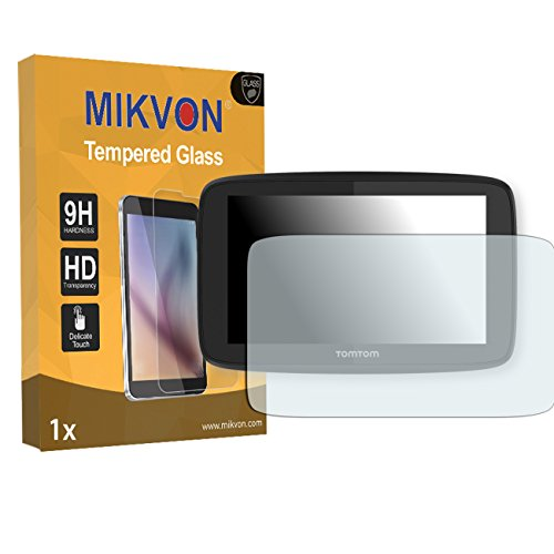 Wholesale 1x Mikvon Tempered Glass 9H for TomTom Go 520 Glassfilms Screen Protector - Retail Package with accessories